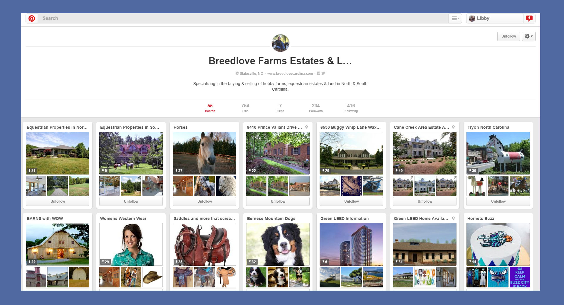 Pinterest Development Charlotte