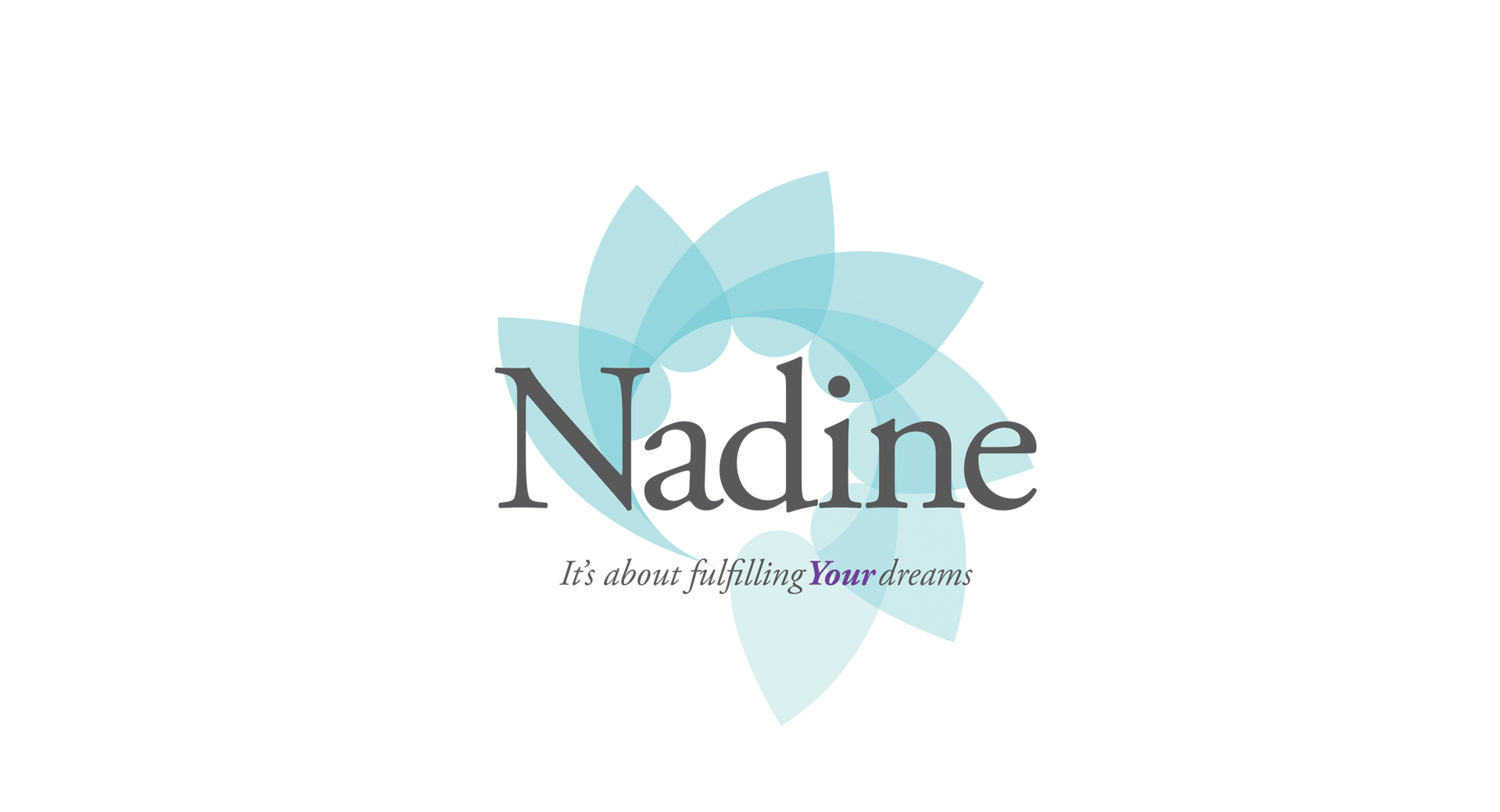Dream With Nadine - Logo Design - CCP Web Design