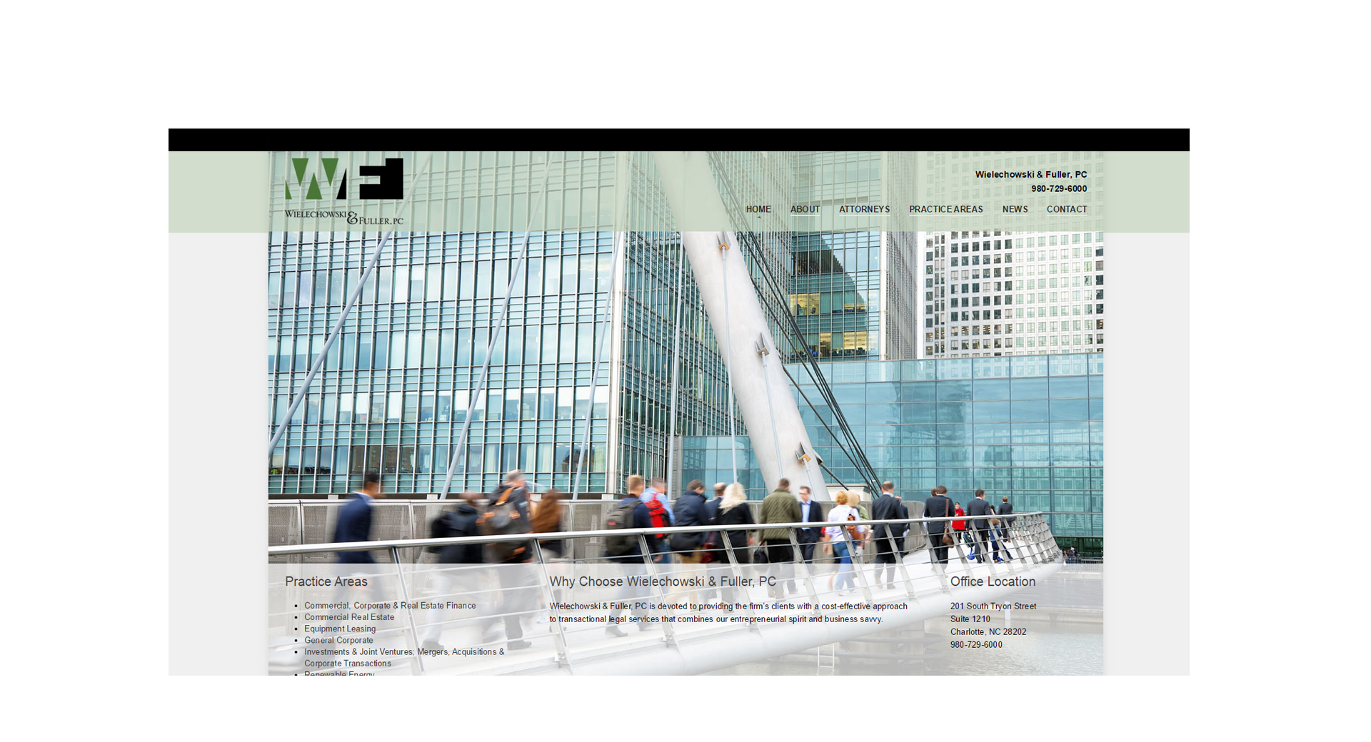 Wielechowski & Fuller, PC - CCP Web Design