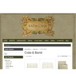 Kada Casa Slipcovers - eCommerce Website Development