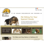 Pet Sitting & Dog Walking Website Design