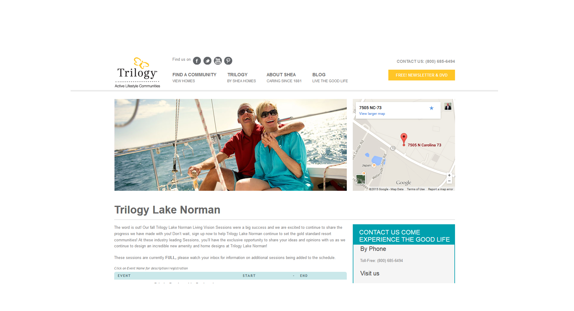 Trilogy Life - Real Estate Website Development, eCommerce Development by CCP Web Design
